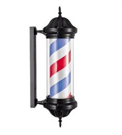 Barber-Pole-Black