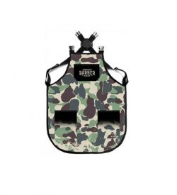 ΠΟΔΙΑ-BARBER-Army-Green-Apron-(BM-AP-002)-Barber-Mood