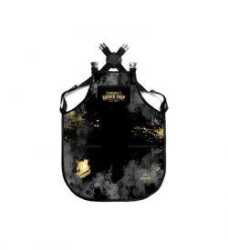 ΠΟΔΙΑ-BARBER-Gold-Splash-Apron-(BM-AP-001)-Barber-Mood
